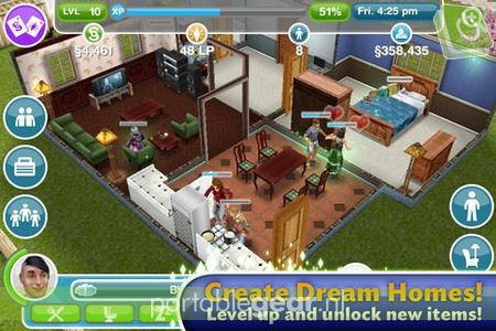 The Sims FreePlay voor iPhone en iPad