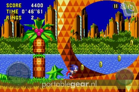 Sonic CD (iPhone-versie)