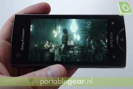 Sony Ericsson Xperia ray: video