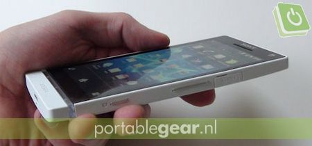 Sony Xperia S: HDMI-out & aparte cameratoets