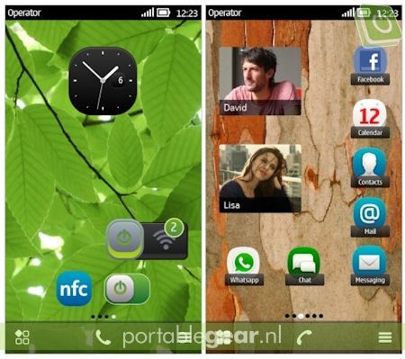 Symbian Belle: visual multitasking & NFC