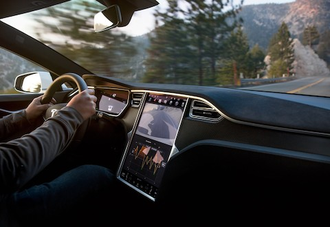 Tesla Model S - Display