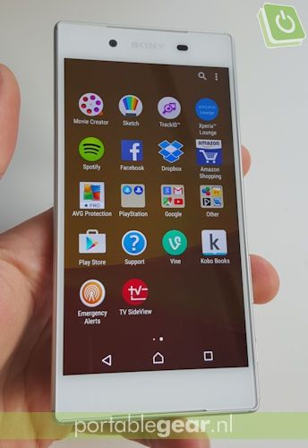 Sony Xperia Z5: Android 5.1 Lollipop, Android 6.0 Marshallow-update volgt