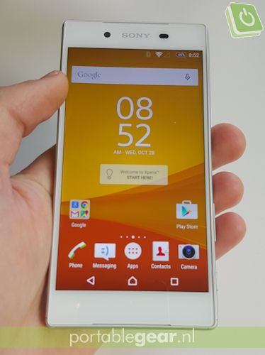 Sony Xperia Z5: 5,2-inch Full HD-display