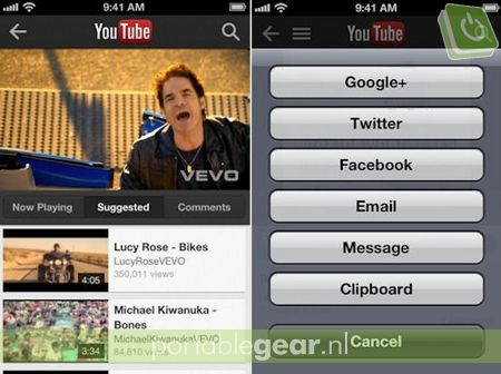 Nieuwe YouTube-app voor iPhone en iPod touch